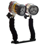 Ultrapower-II Underwater Video LED Dive Light Pro Package - side