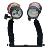 Ultrapower Underwater Strobe and LED Dive Light Duo Pack