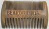 Narrow and Wide Tooth Sandalwood Beard Comb