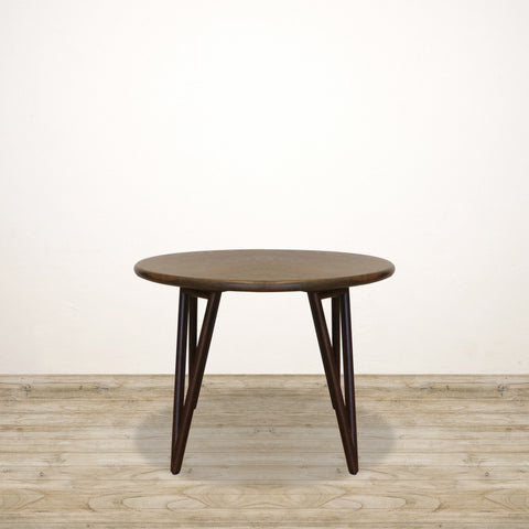 Dark Oak Round Oxford Dining Table in Oak