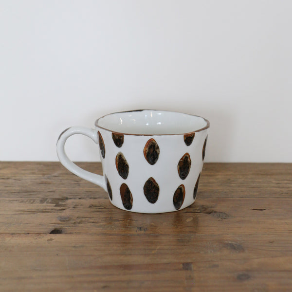 Zanzibar Mugs in Spots and Stripes