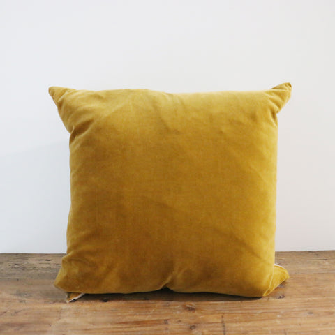 Gold Velvet Cushion Cover