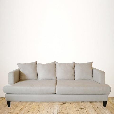 New Zealand Made Milano 3 Seater Sofa in Natural Linen