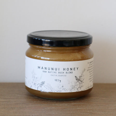 Raw Native Bush Blend Honey 425gm