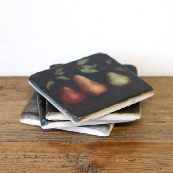 Raphael Pear Coaster Set