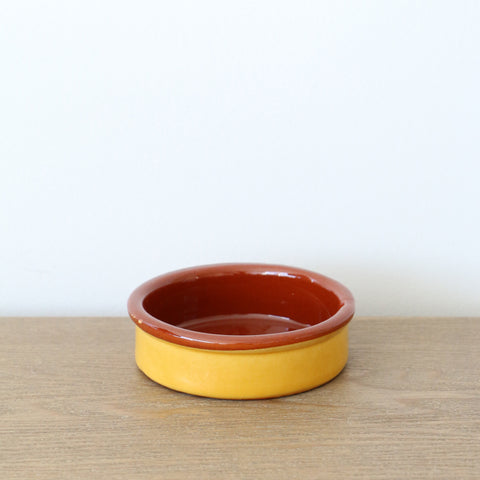 Handmade Spanish Tapa Dish 9CM in Gold