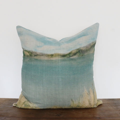 Island Summer Linen Cushion Cover