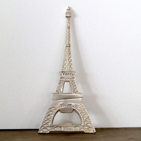 Bottle Opener 'Tour Eiffel' Antique Silver Finish