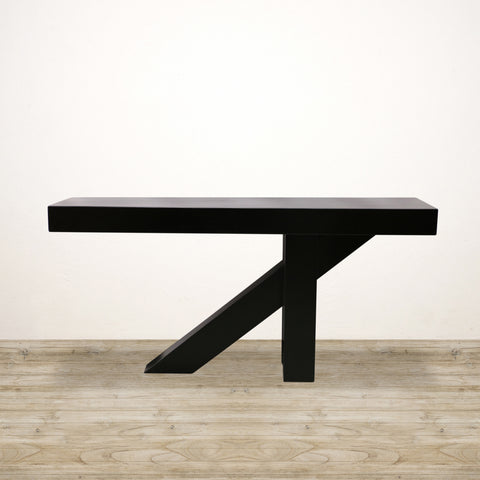 Tribeca Hall Table in Black