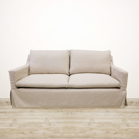 Ashton 2.5 Seater Couch in Natural Linen