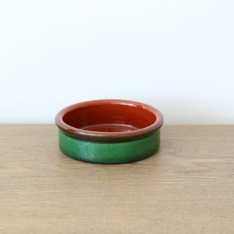 Handmade Spanish Tapa Dish 9cm in Green