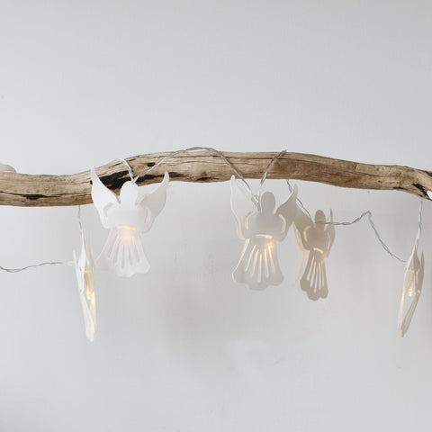 Handmade Floating Angels LED String Lights