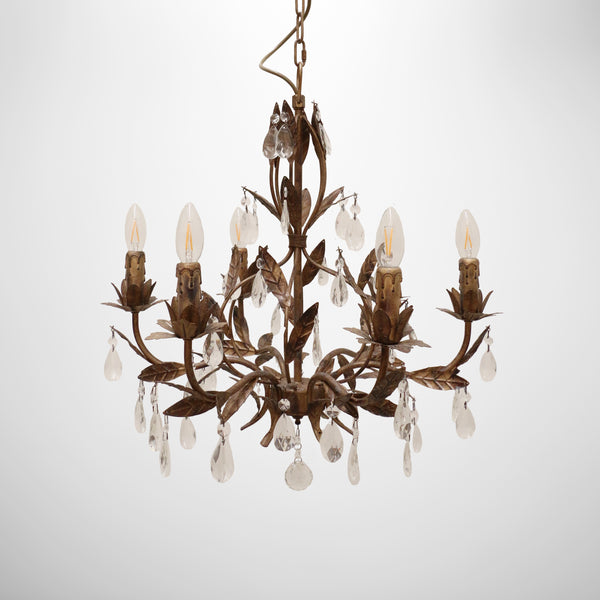 Fleurence Bambino Chandelier Champagne  Gold