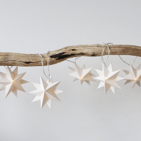 Handmade Sophia Star LED String Lights