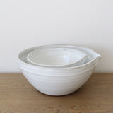 Organic Shaped Mixing Bowl - Large