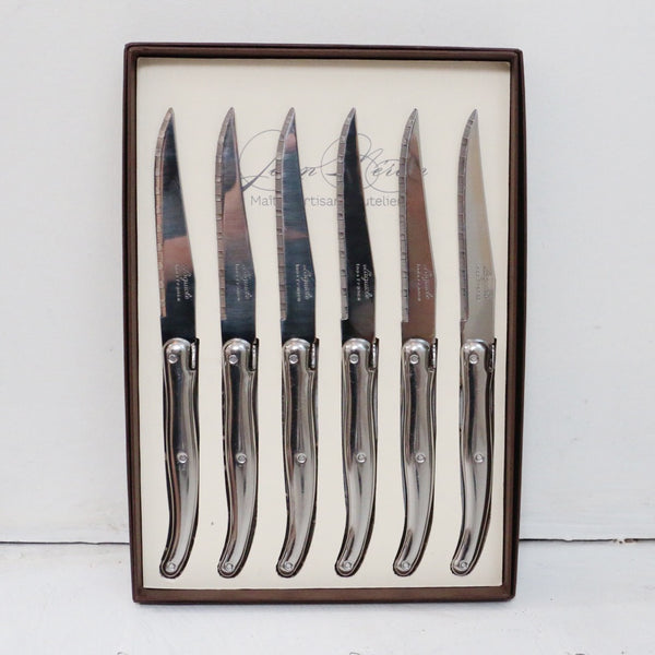 Laguiole Stainless Steel Steak Knives Set of 6