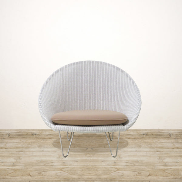 Gigi Cocoon Chair White