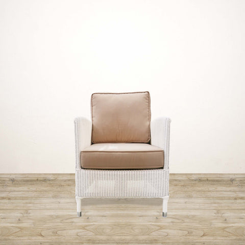 Deauville Lounge Chair in White
