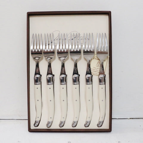 Laguiole Ivory Table Forks Set of 6