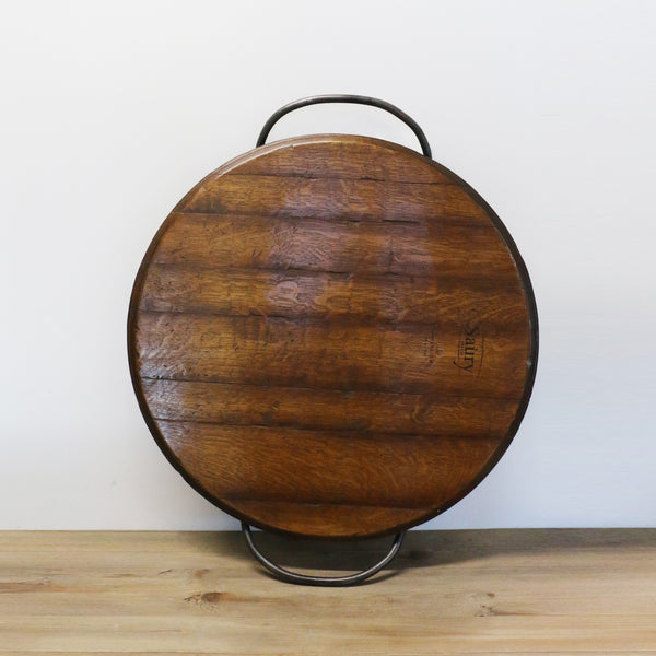 New Zealand Made Barrel Head Platter with Handles