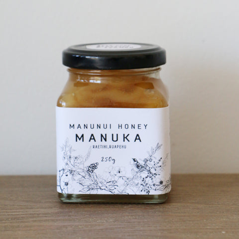 RAW PURE MANUKA HONEY 250grm