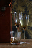 Ambretta Ridged Champagne Glass