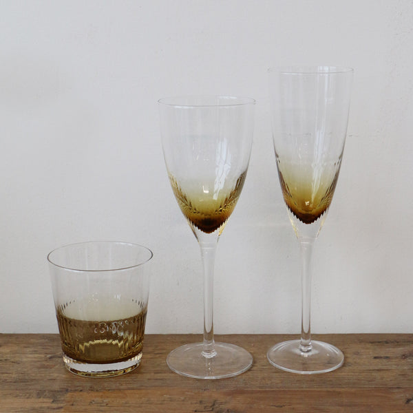 Ambretta Ridged Wine Glass