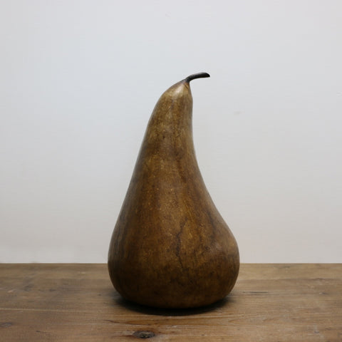 Extra Large Marble Stained Pear