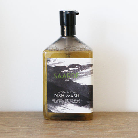 Olive Oil Dishwashing Liquid