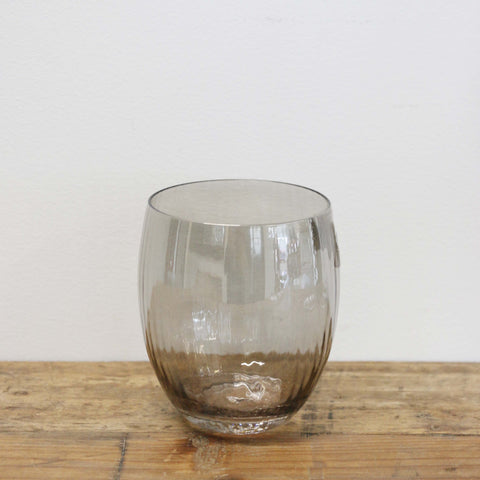 Fumee Grey Stemless Wine Glass
