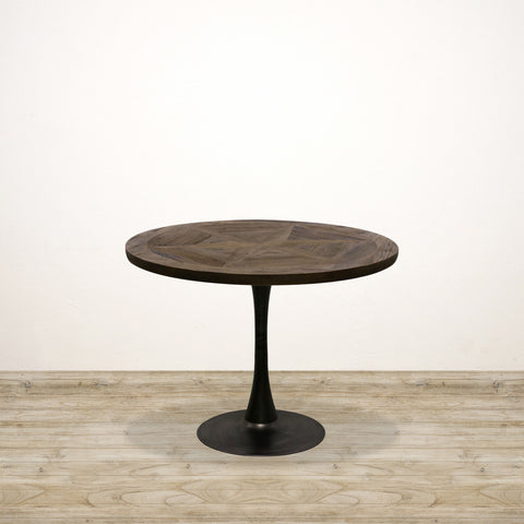 Cairo Sunburst Parquet Top Dining Table