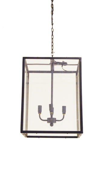 Luberon Glass Hanging Lamp