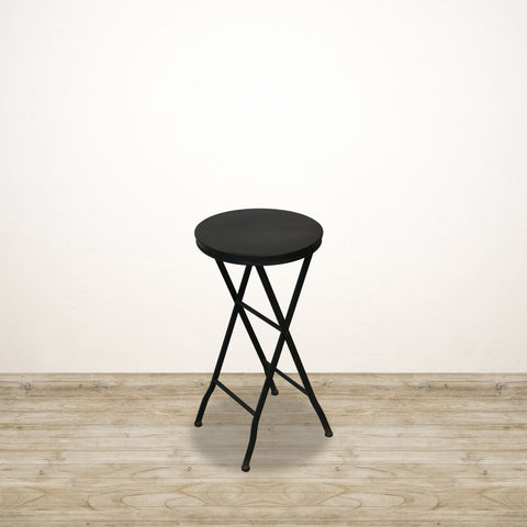 Petite Metal Occasional Table in Black