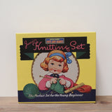 RETRO KNITTING SET