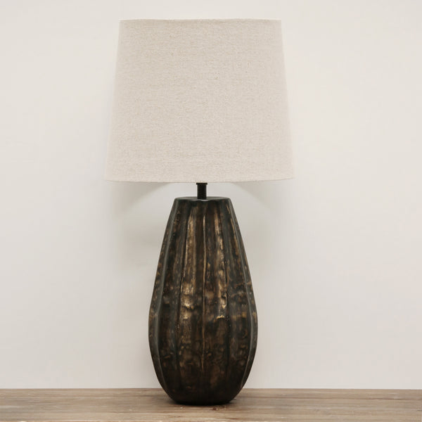 Sculptural Seed Pod Design Lamp