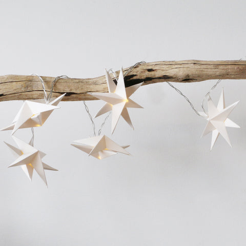 Handmade Aria Star LED String Lights