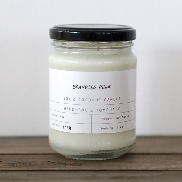 Brandied Pear 8oz Candle