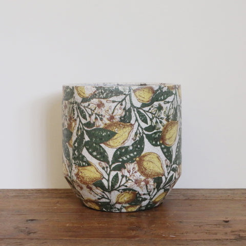Large Limone Rounded Planter