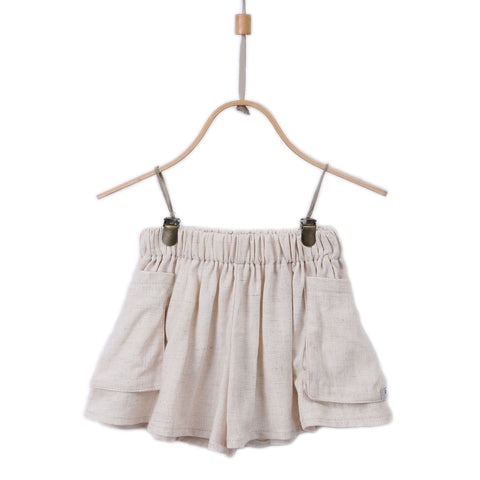 Donsje Linen Carry Shorts