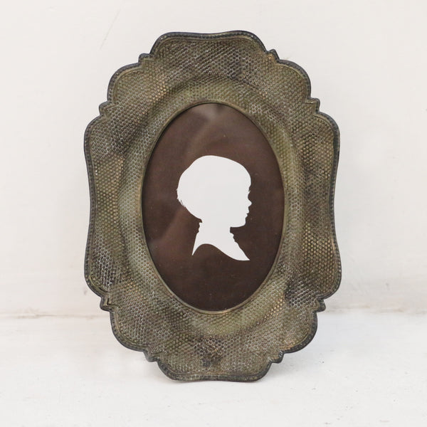 Oval Decal Edged European Photo Frame