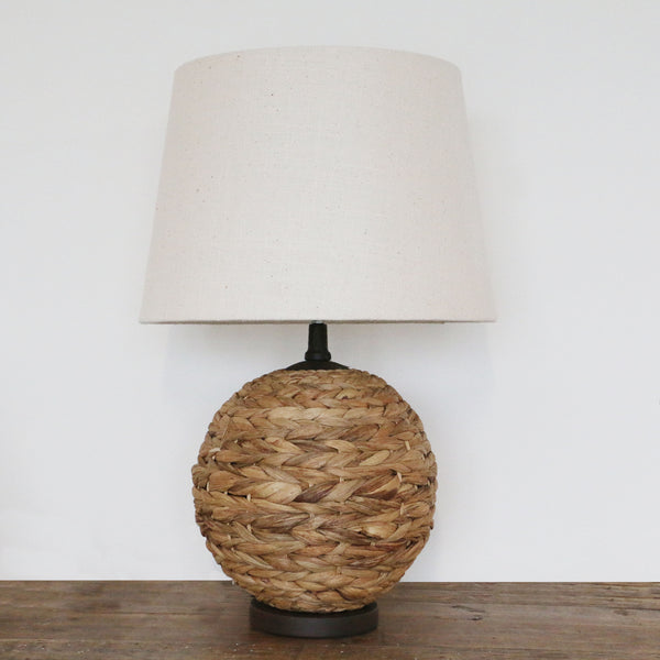 Hyacinth Lamp with Shade