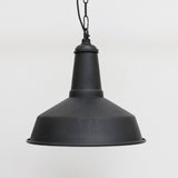 Hanging Lamp in Antique Black Finish