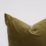 Olive Velvet Cushion Cover