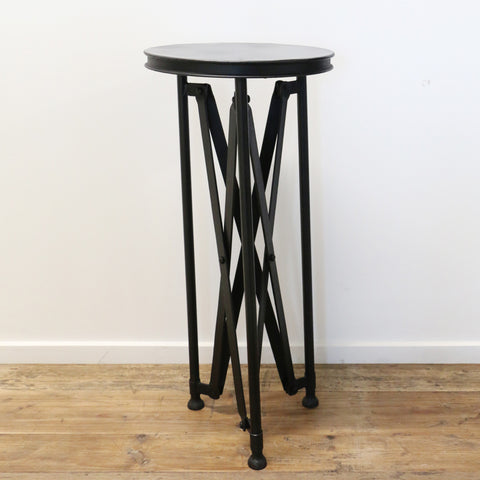 French Industrial Style Petite Occasional Table