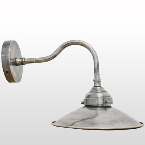 Wall Lamp Pewter Style