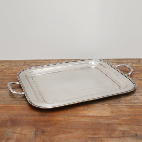 Antique Silver Style Tray