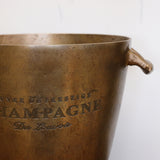 Champagne Bucket with Handles in Brass Finish