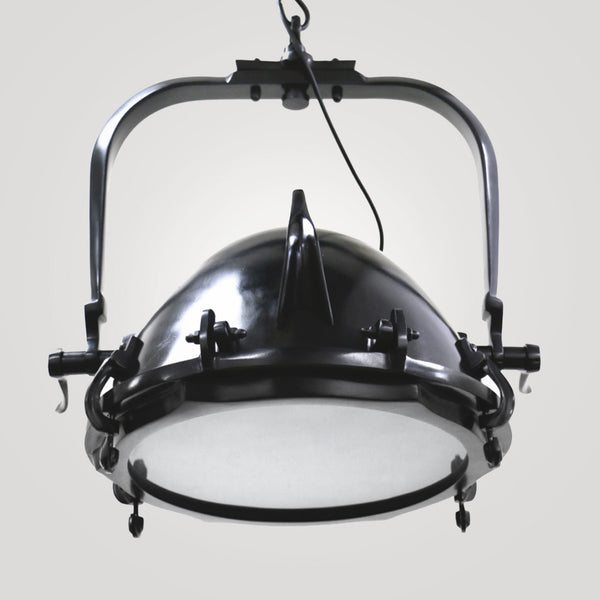 Industrial Hanging Spot Light in Black