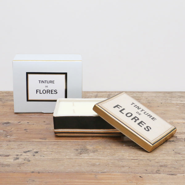 Floris Ceramic Candle