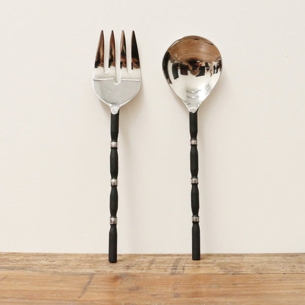 Milano Salad Server Set